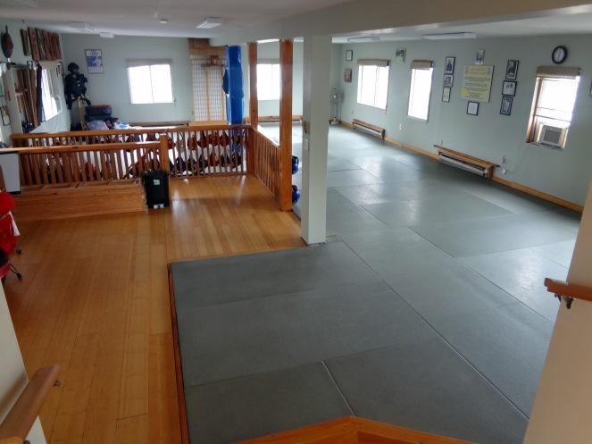 2nd Floor Matted Dojo Tallack Martial Arts