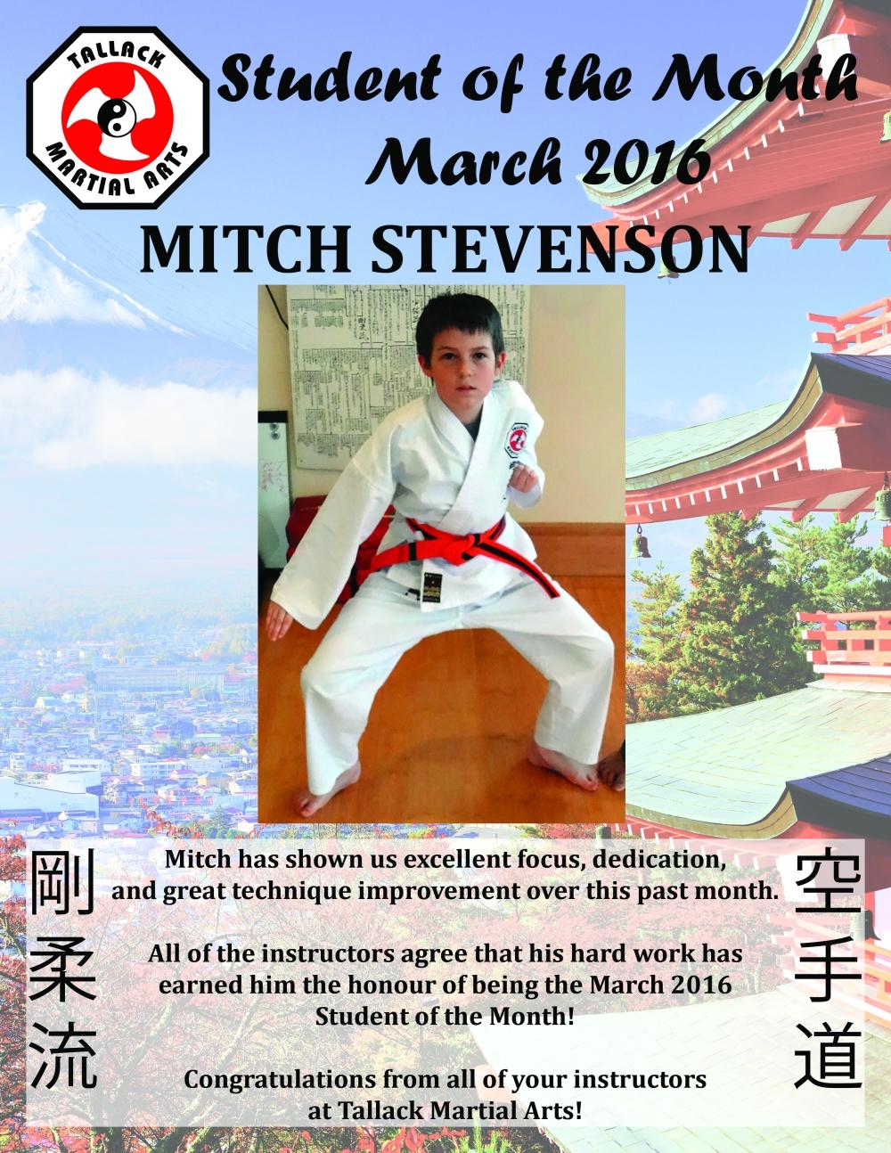 March 2016 - Mitch Stevenson