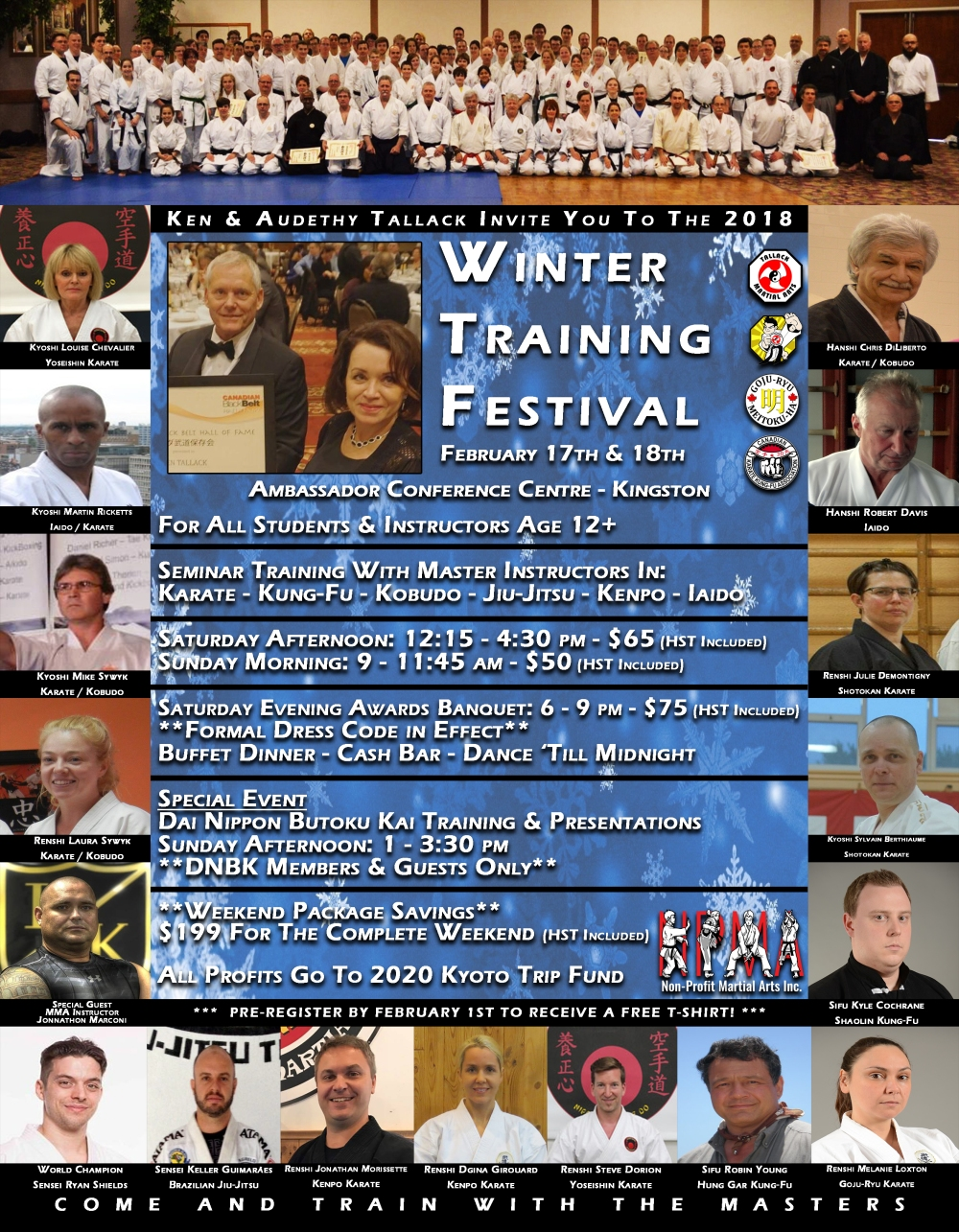 Weekend Events Poster