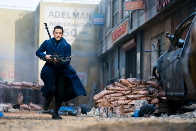 Daniel Wu as Sunny; single - Into the Badlands _ Season 3, Episode 3 - Photo Credit: Aidan Monaghan/AMC