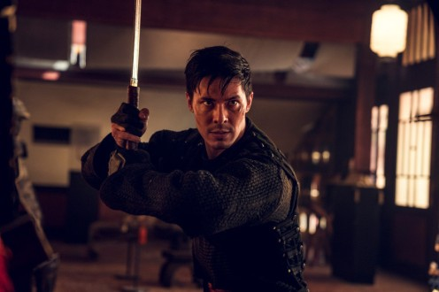 Lewis Tan as Gaius - Into the Badlands _ Season 3, Episode 4 - Photo Credit: Aidan Monaghan/AMC