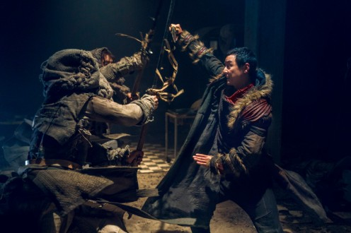 Daniel Wu as Sunny - Into the Badlands _ Season 3, Episode 4 - Photo Credit: Aidan Monaghan/AMC